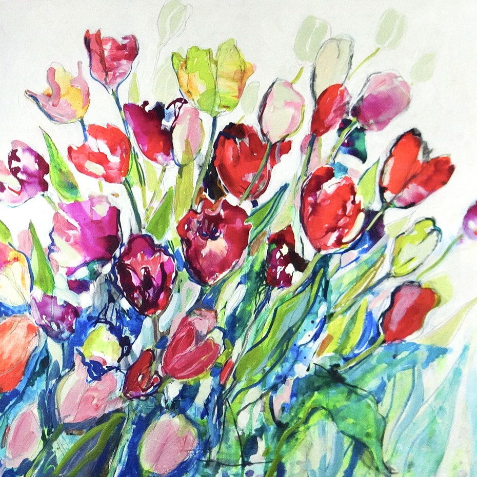Paintings by Flora Doehler